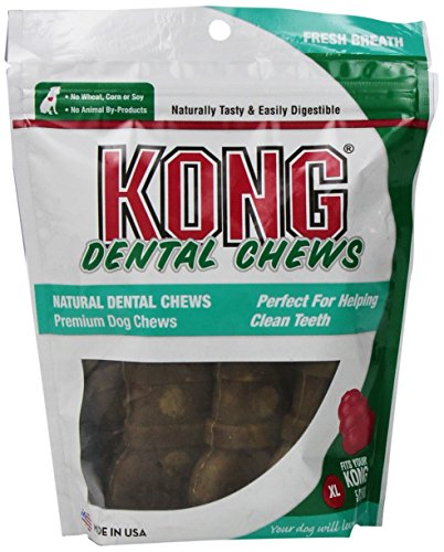Kong Premium Treats Dental Chews Breath Fresh, X-Large