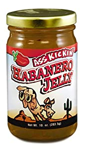 Ass Kickin Habanero Jelly - A Delicious Habanero Flavored Jelly That Will Enhance Any Snack Time Craving from Southwest Specialty Foods Inc.