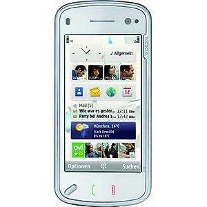 Nokia N97 Smartphone (QWERTZ-Tastatur, GPS, W-Lan, Ovi Karten, Kamera mit 5 MP) white