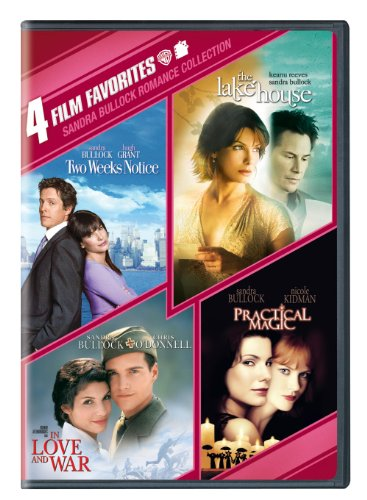 4 Film Favorites: Sandra Bullock (In Love and War, The Lake House, Practical Magic, Two Weeks Notice) (2 Weeks Notice compare prices)