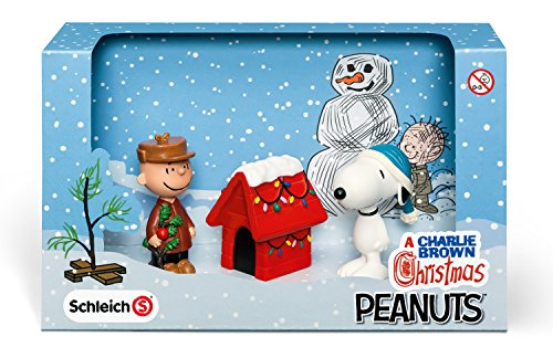 Schleich A Charlie Brown Christmas Scenery Pack - 1