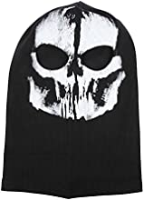 Sportsrain Full Face Motorcycle Bicycle Bike Skull Mask Snowmobile Hood Neck Balaclava Hat
