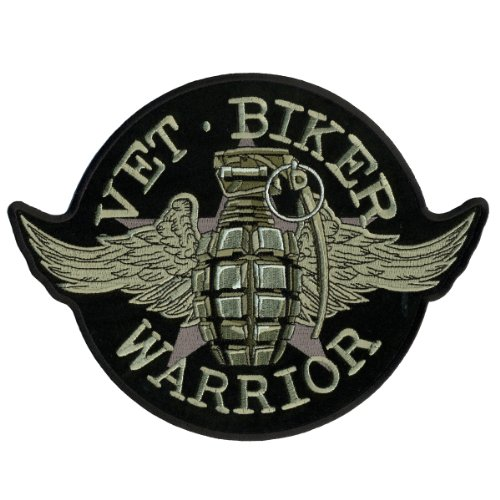 Hot Leathers Grenade Patch (1