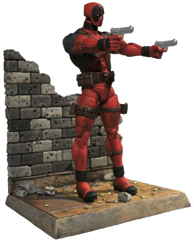 Diamond Select Toys Marvel Select: Deadpool Action Figure (Deadpool Toys Action Figures compare prices)