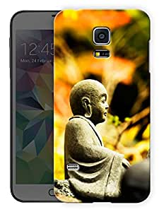 """Humor Gang Buddha - The Name For Calm Printed Designer Mobile Back Cover For """"Samsing Galaxy S5"""" (3D, Matte, Premium Quality Snap On Case)"""