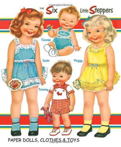 Six-Little-Steppers-Paper-Dolls