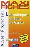 Maxi fiches. Les politiques sociales en France - 1998-2012