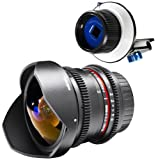 Walimex Pro VDSLR Set Fish-Eye II (8mm) für Canon