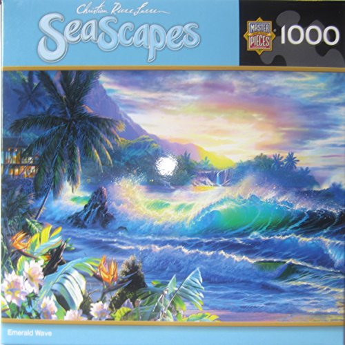 Christian Riese Lassen - Emerald Wave - 1000 Piece Puzzle - 1