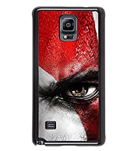 Angry Eye Back Case Cover for SAMSUNG GALAXY NOTE4