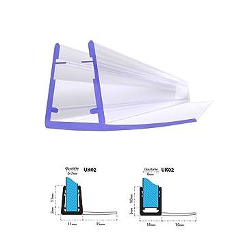 joint d 39 tanch it de rechange pour pour verre de douche d 39 paisseur 6mm 7mm 7mm 8mm. Black Bedroom Furniture Sets. Home Design Ideas