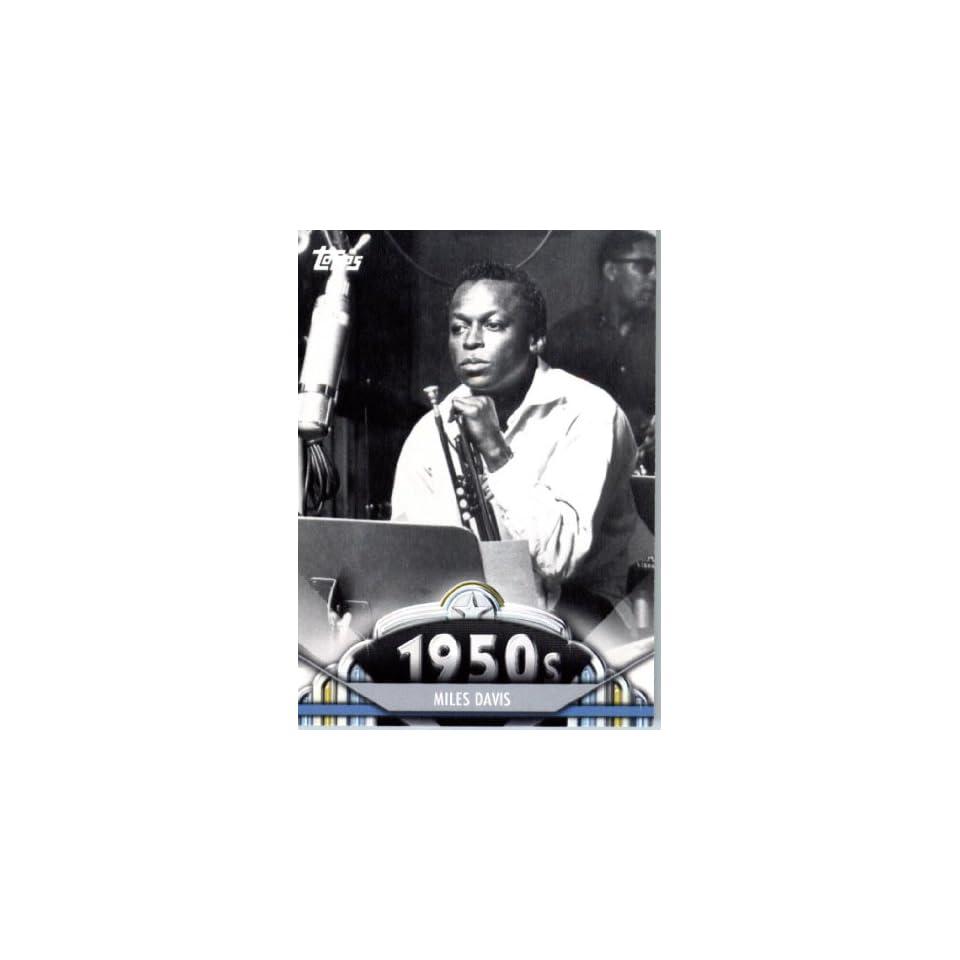 2011 Topps American Pie Card #70 Miles Davis   ENCASED Trading Card