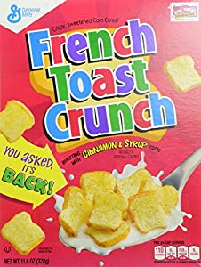 General Mills Cereals French Toast Crunch Cereal Box, 11.6 Ounce
