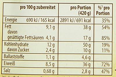 Knorr Fix - Natürlich Lecker, Lasagne, 17er Pack (17 x 60 g) von Knorr - Gewürze Shop