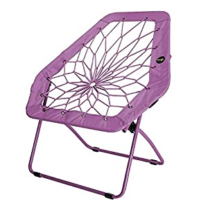 Bunjo Hex Bungee Chair Purple Electronics