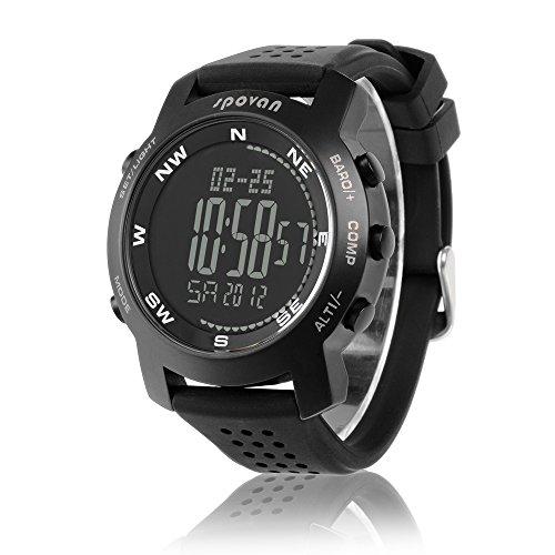Peleustech® Spovan Bravo-I Multifunctional Digital Sports Watch