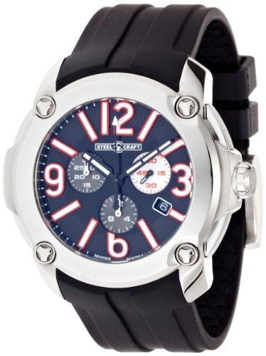 Steelcraft Racing Chronograph Analog Black Dial Men's Watch - RGQCC04C00M51.RU01