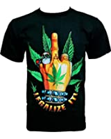 Rock Chang T-Shirt Legalize It - F..k You R 323