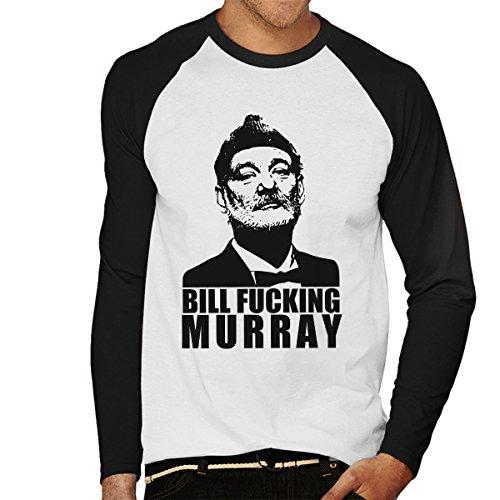 bill-fucking-murray-mens-baseball-long-sleeved-t-shirt