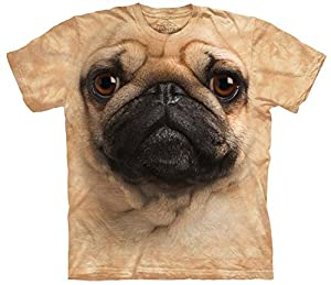 Pug Face Dog - Mops/Hundegesicht - Kinder-T-Shirt von The Mountain - The Mountain
