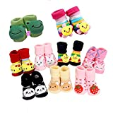 #4: EIO™ New Born Baby Socks cum shoes - 2 Pair set Free Delivery