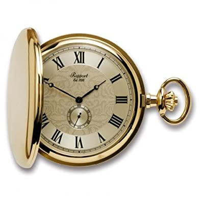 Rapport Pocket Watch PW84 Gold Plated Full Hunter