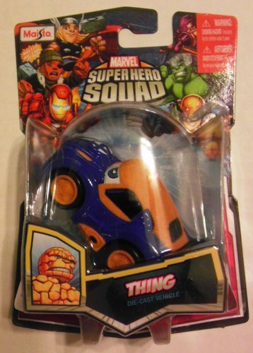 Marvel Super Hero Squad THING Squad Cars Die-Cast Vehicle