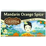 Celestial Seasonings Herb Tea, Mandarin Orange Spice, 20-Count Tea Bags (Pack of 6) ~ Celestial Seasonings