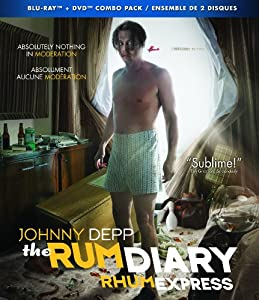 The Rum Diary (Blu-Ray + DVD) (Bilingual)