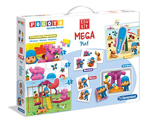 Pocoyo - Mega Edukit 7 en 1 (Clementoni 550807)