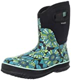 Bogs Women's Classic Mid Mumsie Waterproof Boot - Black