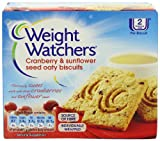 WeightWatchers Cranberry and Sunflower Seed Oaty Biscuits 152 g (Pack of 10)