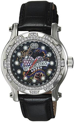 Marc Ecko reloj mujer piel negro E12589M2
