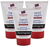 3x Neutrogena Norwegian Formula Concentrated Hand Cream 50ml