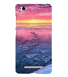 EPICCASE Frozen lake Mobile Back Case Cover For Xiaomi Redmi Mi4i (Designer Case)