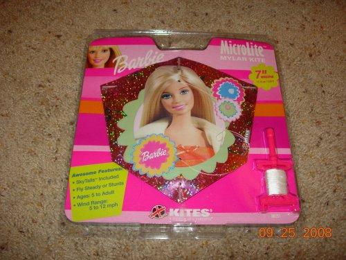 """Barbie MicroLite Mylar Kite (7"""" Wingspan)"""