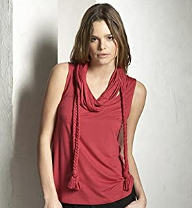 Limited Collection Sleeveless Scarf Top - Marks & Spencer :  fashion top casual modern