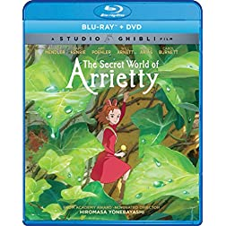The Secret World Of Arrietty [Blu-ray]