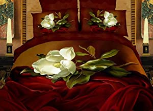 Dolce Mela DM403K Amore King Duvet Cover Set
