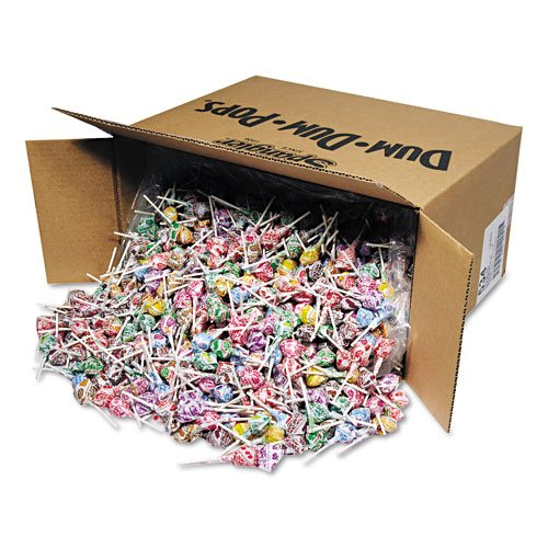Spangler Products - Spangler - Dum-Dum-Pops, Assorted Flavors, Individually Wrapped, Bulk 30lb Box - Sold As 1 Carton - The classic, all American lollipop. - Fun, assorted flavors. - Individually wrapped.