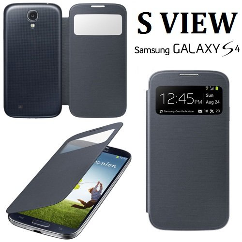 Flip cover s view per samsung galaxy s4 i9500 i9505 - Cover con finestra ...