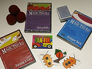 Amazing Easy to Learn Magic Tricks Fording a Card DVD Spongeballs with DVD Pro Brand Bridge Size Str