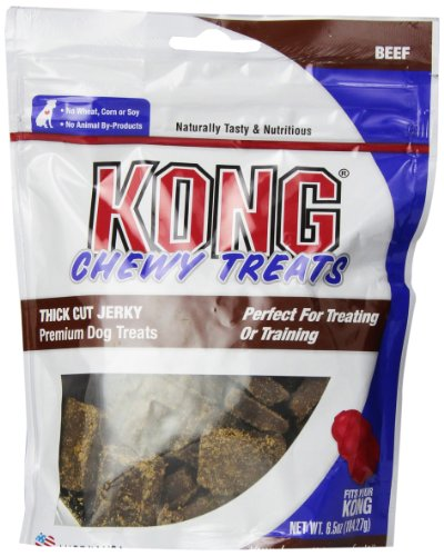 Kong Premium Treats Thick Cut Jerky, Beef