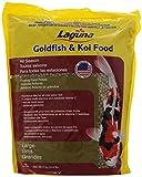 Laguna Goldfish/Koi Floating Food, Large Pellet, 4.4-Pound