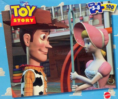 Toy Story 100 Piece Puzzle - Woody & Bo Peep (1998) - 1