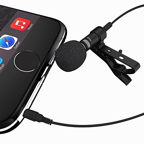 Lavalier Lapel Condenser Microphone