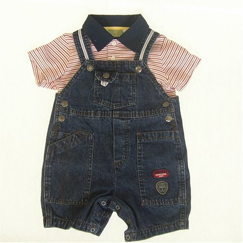 Denim Overall Shorts - Infant and Toddlers - Buy Denim Overall Shorts - Infant and Toddlers - Purchase Denim Overall Shorts - Infant and Toddlers (Eddie Bauer, Eddie Bauer Apparel, Eddie Bauer Toddler Boys Apparel, Apparel, Departments, Kids & Baby, Infants & Toddlers, Boys, Shorts)