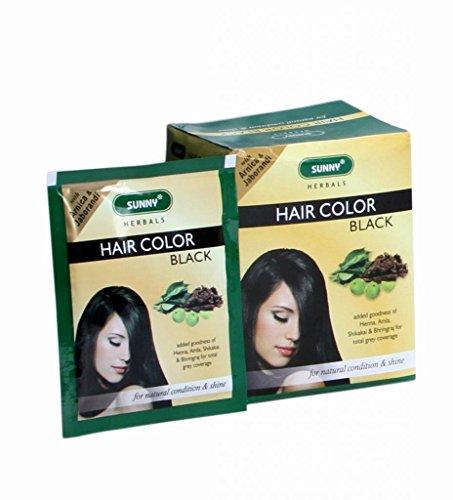 HERBAL HAIR COLOR (BLACK) - Pack Of 12