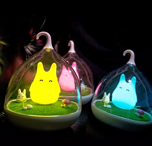 Lovely Birdcage Totoro Portable Touch Sensor USB LED Baby Night Light Table Bedside Home Decor Lamp Child Gifts (Denso Ac Compressor Kit compare prices)