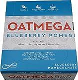 Boundless Nutrition Bar Blueberry Pomegranate Oatmega Bar, Gluten-Free, Soy-Free, Egg-Free (Pack of 12)